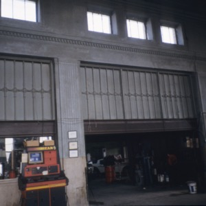 Interior view, Winston-Salem Union Station (Davis Garage), Winston-Salem, Forsyth County, North Carolina