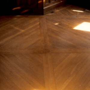 Flooring, Henry Leinbach House, Winston-Salem, Forsyth County, North Carolina