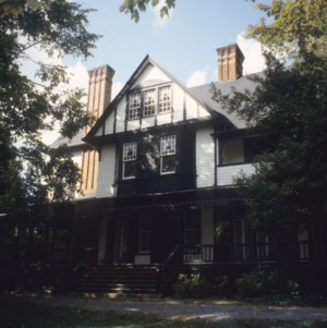 Front view, Hylehurst, Winston-Salem, Forsyth County, North Carolina