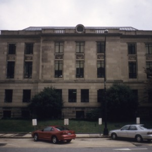 Front view, Forsyth County Courthouse, Winston-Salem, Forsyth County, North Carolina