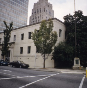 View, Forsyth County Courthouse, Winston-Salem, Forsyth County, North Carolina