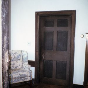 Door, Cooke House, Franklin County, North Carolina