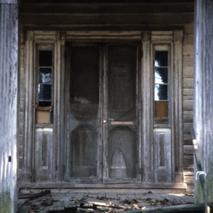 Entrance, Cooke House, Franklin County, North Carolina