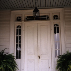 Doorway, Clifton House, Franklin County, North Carolina