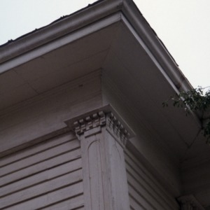 Exterior detail, Clifton House, Franklin County, North Carolina