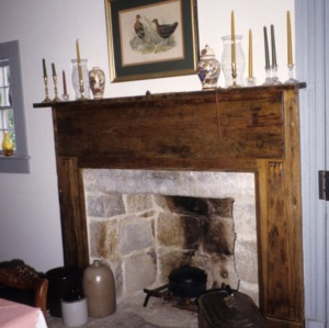 Fireplace, Clifton House, Franklin County, North Carolina