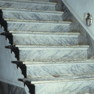 Stairs, Clifton House, Franklin County, North Carolina
