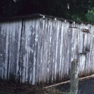 Outbuilding view, Shell Station, Winston-Salem, Forsyth County, North Carolina