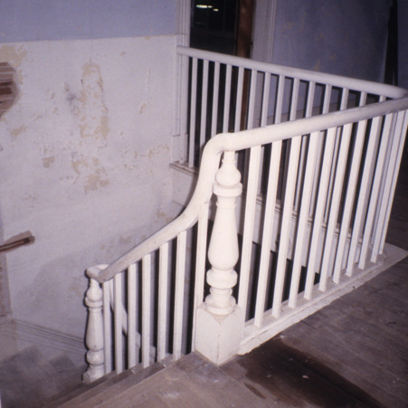 Baluster, Dr. Samuel Perry House, Franklin County, North Carolina