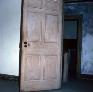 Doorway, Massenburg Plantation (Woodleaf Plantation), Franklin County, North Carolina