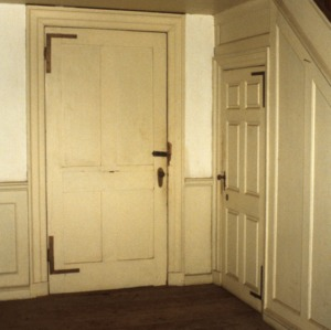 Doorway, Patty Person Taylor House, Franklin County, North Carolina