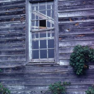 Window, Patty Person Taylor House, Franklin County, North Carolina