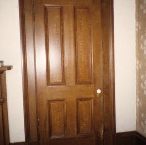 Doorway, Williamson House, Louisburg, Franklin County, North Carolina