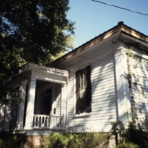 View, Williamson House, Louisburg, Franklin County, North Carolina