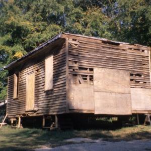 Outbuilding view, Williamson House, Louisburg, Franklin County, North Carolina
