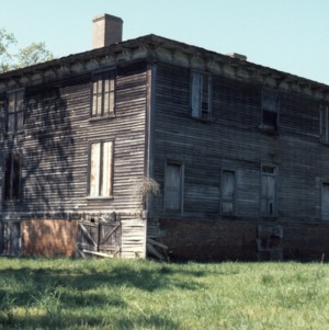 View, Archibald Taylor House, Franklin County, North Carolina