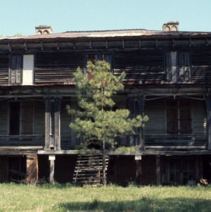 Front view, Archibald Taylor House, Franklin County, North Carolina