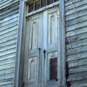 Doorway, Archibald Taylor House, Franklin County, North Carolina