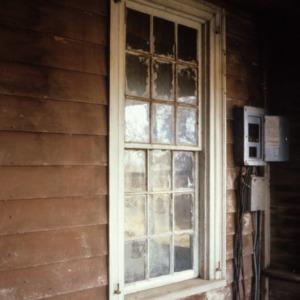 Window, Andrew Carpenter House, Gaston County, North Carolina