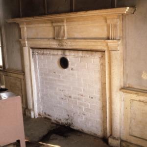 Fireplace, Andrew Carpenter House, Gaston County, North Carolina
