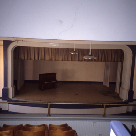 Auditorium view, Central School, Gastonia, Gaston County, North Carolina