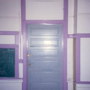 Doorway, Central School, Gastonia, Gaston County, North Carolina
