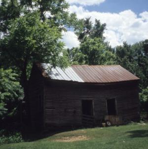 Outbuilding view, Craig Farmstead, Gaston County, North Carolina