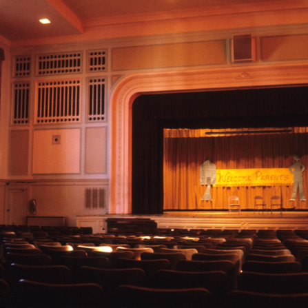 Auditorium, Former Gastonia High School, Gastonia, Gaston County, North Carolina