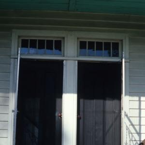Entrance, Little Riddick House, Gates County, North Carolina