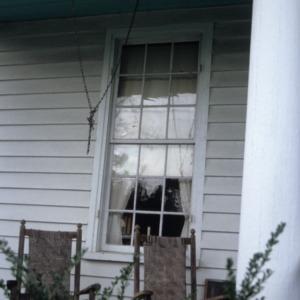 Window, Little Riddick House, Gates County, North Carolina