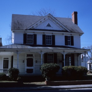 Front view, Eure-Roberts House, Gatesville, Gates County, North Carolina