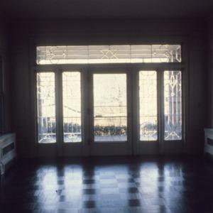 Interior view, Latham-Baker House, Greensboro, Guilford County, North Carolina