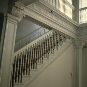 Stairs, Latham-Baker House, Greensboro, Guilford County, North Carolina