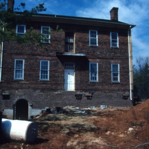 Front view, Low House, Guilford County, North Carolina