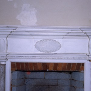 Fireplace, Low House, Guilford County, North Carolina