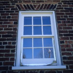 Window, Charles Benbow House, Oak Ridge, Guilford County, North Carolina