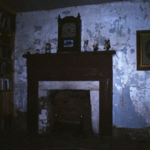 Fireplace, Shaw-Cude House, Guilford County, North Carolina