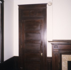 Doorway, Dr. Charles S. Grayson House, High Point, Guilford County, North Carolina