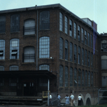 Partial view, Revolution Cotton Mill, Greensboro, Guilford County, North Carolina