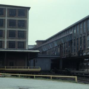 Partial view, Revolution Cotton Mill, Greensboro, Guilford County, North Carolina