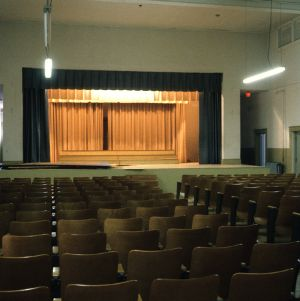 Auditorium, Jamestown Public School, Jamestown, Guilford County, North Carolina