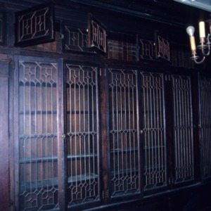 Interior view, John Galloway House, Greensboro, Guilford County, North Carolina