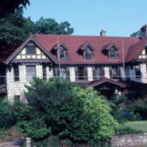 Front view, John Galloway House, Greensboro, Guilford County, North Carolina