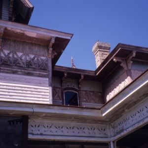 Exterior detail, Hoffman-Bowers-Josey-Riddick House, Scotland Neck, Halifax County, North Carolina