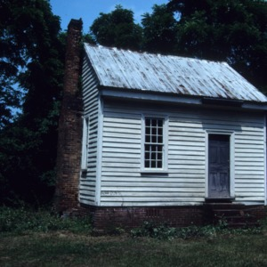Outbuilding view, Shell Castle, Halifax County, North Carolina