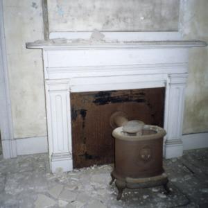 Fireplace, David A. Barnes House, Murfreesboro, Hertford County, North Carolina