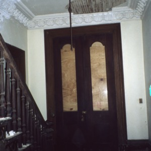 Doorway, David A. Barnes House, Murfreesboro, Hertford County, North Carolina
