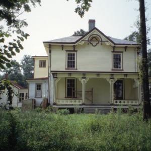 Front view, David A. Barnes House, Murfreesboro, Hertford County, North Carolina