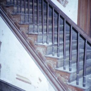 Stairs, Myrick-Yeates-Vaughn House, Murfreesboro, Hertford County, North Carolina