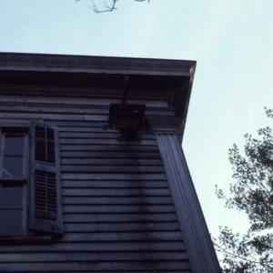 Exterior detail, Myrick-Yeates-Vaughn House, Murfreesboro, Hertford County, North Carolina